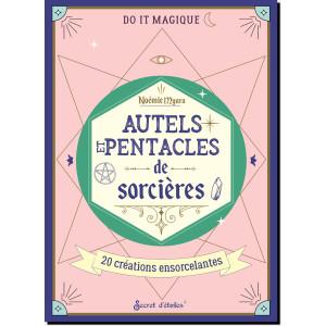 Autels et pentacles de sorcières, 20 créations ensorcelantes de Noémie Myara, coll. Do it magique des éditions Secret d'étoiles