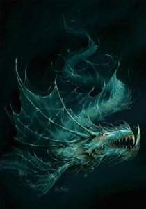 "Carte Postale ""Dragon des Muirdris"" de Elian Black'Mor (Coll. Les Dragons)"