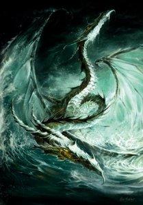 Carte Postale De Elian Black'Mor, Maelström - Piste des Dragons