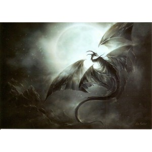 Carte Postale De Elian Black'Mor, Dragon Scandinavie - Piste des Dragons