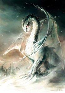 Piste du Froid, carte postale de Elian Black'Mor - Piste des Dragons
