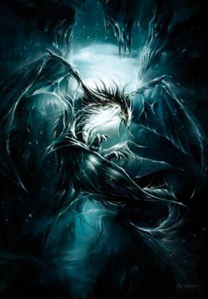 Carte postale de elian black 39 mor dragon faille piste des - Images de dragons ...