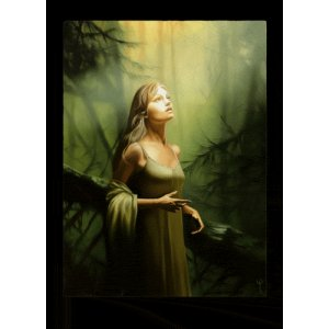 Lumière Divine, carte postale de Sandrine Gestin