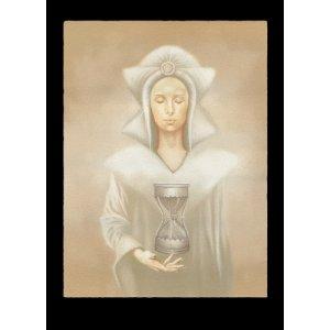 Le Temps des Fées, carte postale de Sandrine Gestin - Temps des fées