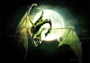 Dragon de Lune de Elian Black'Mor