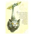 """Carte Postale """"Le Chapin de Noël"""" illustrée par Séverine Pineaux"""