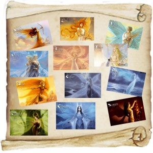 12 Magnets Fées du Zodiac de Sandrine Gestin