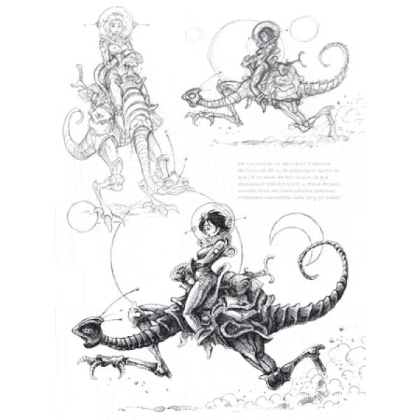 sketchbook  artbook de pascal mogu u00e9rou aux  u00e9ditions au