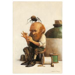 Carte Postale De Jean-Baptiste Monge, Tailleur