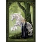 "Carte Postale ""La Dame à la Licorne"" illustrée par Sandrine Gestin"