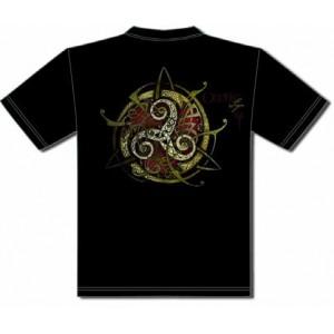 Tee-shirt Triskell Rouge de Sandrine Gestin