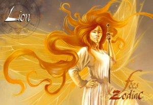 Lion de Sandrine Gestin - Fées du Zodiac