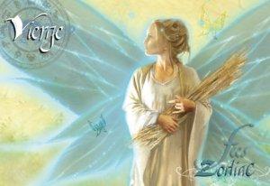 Vierge de Sandrine Gestin - Fées du Zodiac