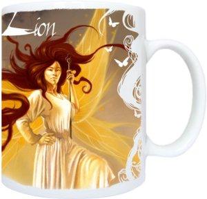Mug Lion de Sandrine Gestin