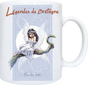 Fée des Bois de Pascal Moguérou - Légendes de Bretagne
