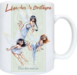 Fées des Sources de Pascal Moguérou - Légendes de Bretagne