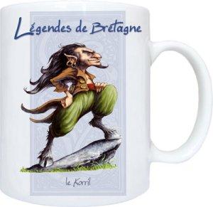 Korril de Pascal Moguérou - Légendes de Bretagne
