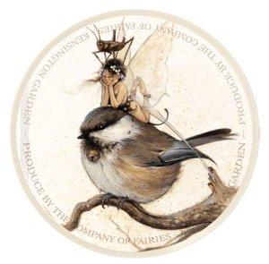 Mésange sur la Branche de Jean-Baptiste Monge - Fées et Oiseaux