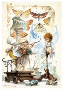 Carte Postale De Pascal Moguérou, Peintre des Ailes