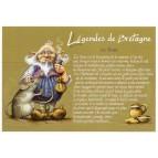 """Carte Postale """"Le Teuz"""" illustrée par Pascal Moguérou"""