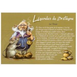 Carte Postale De Pascal Moguérou, Teuz - Légendes de Bretagne