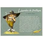 """Carte Postale """"Maître Yann"""" illustrée par Pascal Moguérou"""