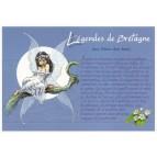 """Carte Postale """"Les Fées des bois"""" illustrée par Pascal Moguérou"""