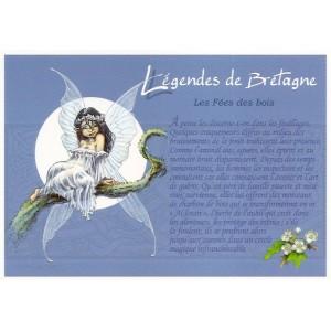 Carte Postale De Pascal Moguérou, Fée des Bois - Légendes de Bretagne