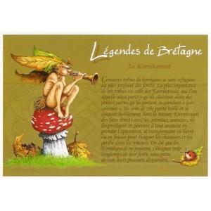 Carte Postale De Pascal Moguérou, Kornikaned - Légendes de Bretagne