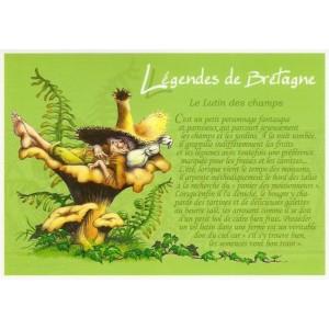 Carte Postale De Pascal Moguérou, Lutin des Champs - Légendes de Bretagne
