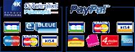 Paiement sécurisé Cybermut et Paypal