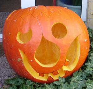 Citrouille d'Halloween - Jack O'Lantern