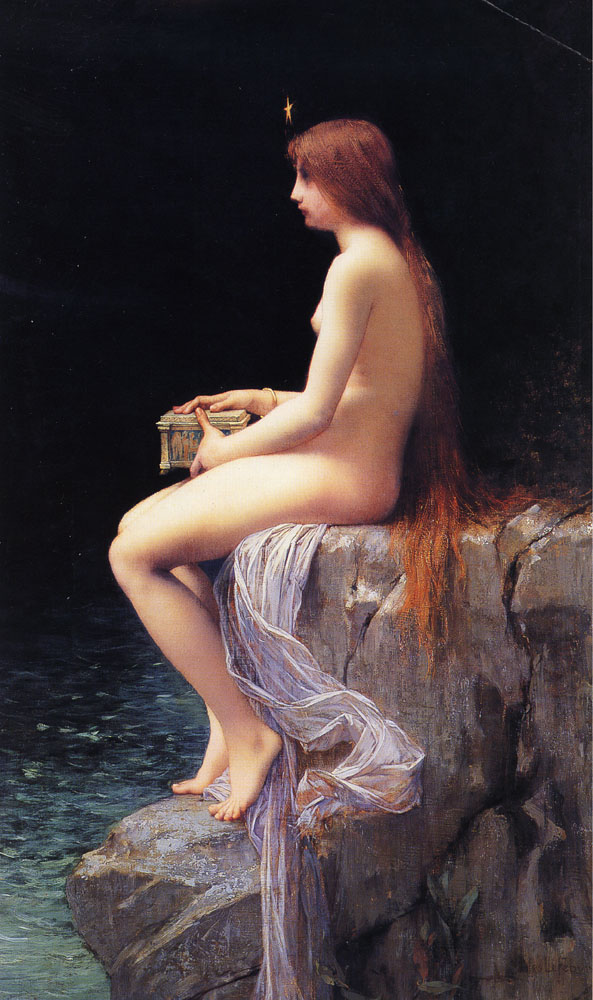 Pandore par Jules Joseph Lefebvre, 1882, collection privée (photo by Art Renewal Center)