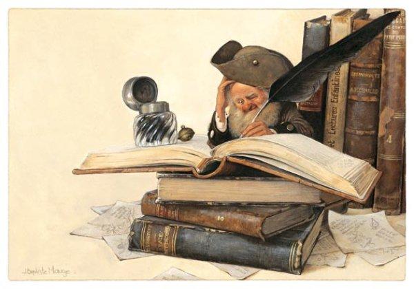 L'Ecrivain de Jean-Baptiste Monge