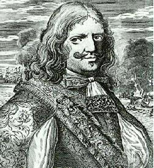 Le Pirate Sir Henry Morgan, lithographie du 18ème