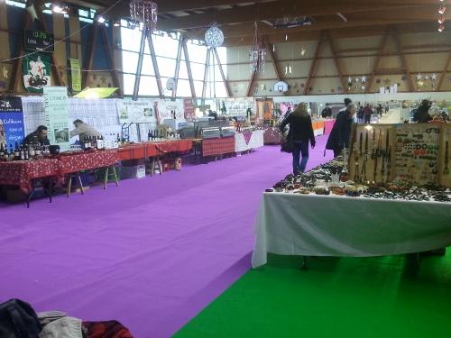 Artisanat africain et Vin de Banuyls étaient présents au marché de Noël de St Georges sur Baulche