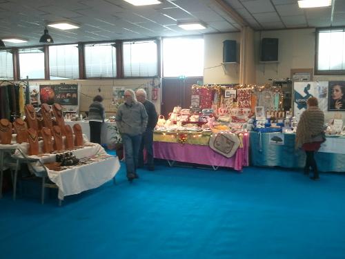 Côté idées cadeaux, le marché de noël a accuilli de nombreux stands de bijoux et d'objets de décoration