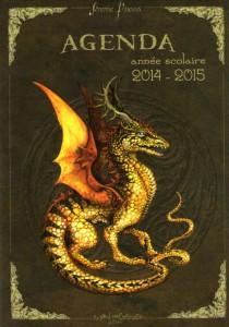 Agenda scolaire Dragons merveilleux de Séverine Pineaux 2014-2015