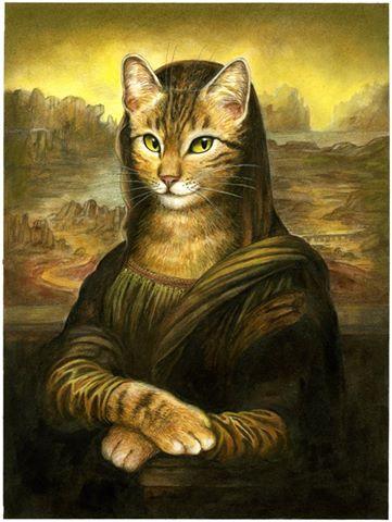 Dessin original de la couverture de Des sourires et des Chats, le nouveau livre sur les chats de Séverine Pineaux.