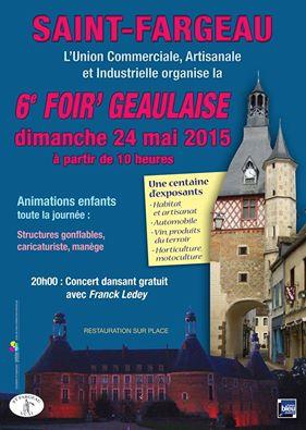 Affiche de la 6ème Foir'Geaulaise