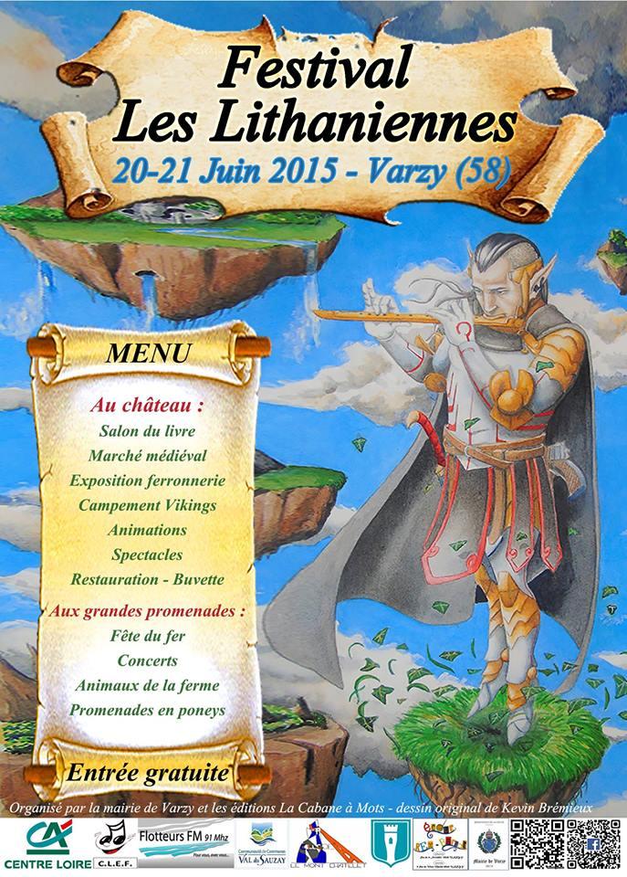 Affiche Festival Les Lithanniennes