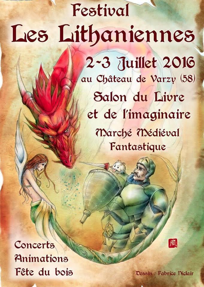 Affiche du 2ème Festival Les Lithanniennes