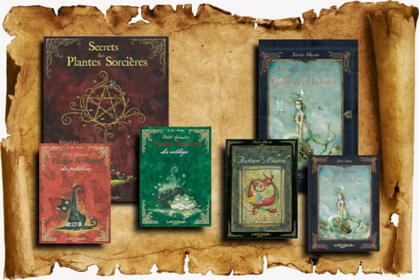 Petit grimoire, collection des éditions Au Bord des Continents...