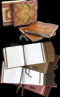 Beau carnet de notes précolombien