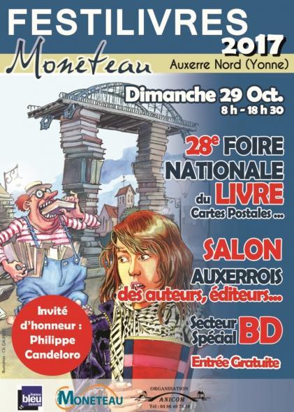 28ème Festilivres de Monéteau