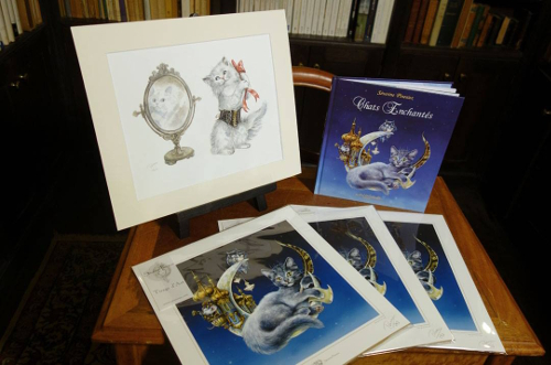 Prix du concours chats enchantés de Séverine Pineaux