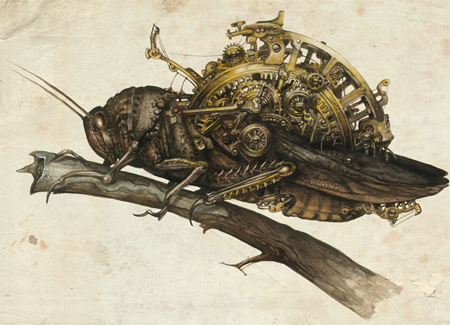 Ysambre, la Femme Graine un livre steampunk