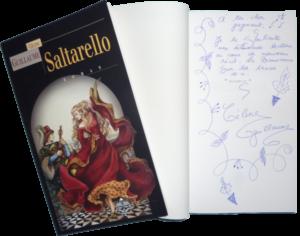 Saltarello dédicacé par Céline Guillaume, le 1er prix du concours