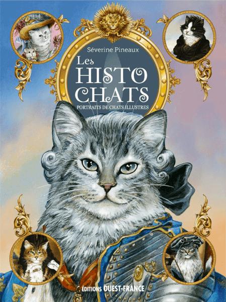 Couverture du livre de Séverine Pineaux Histochats