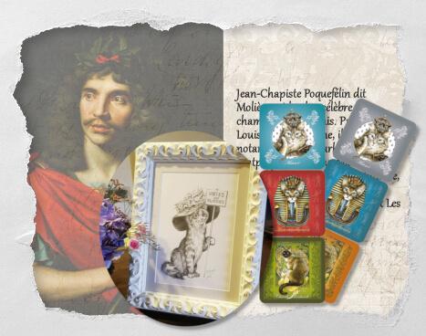 Jean-Chapiste Poquefélin, un histochat inventé pour le Concours Histochats